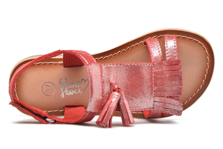 Sandalen I Love Shoes KEFRAN Leather rot ansicht von links