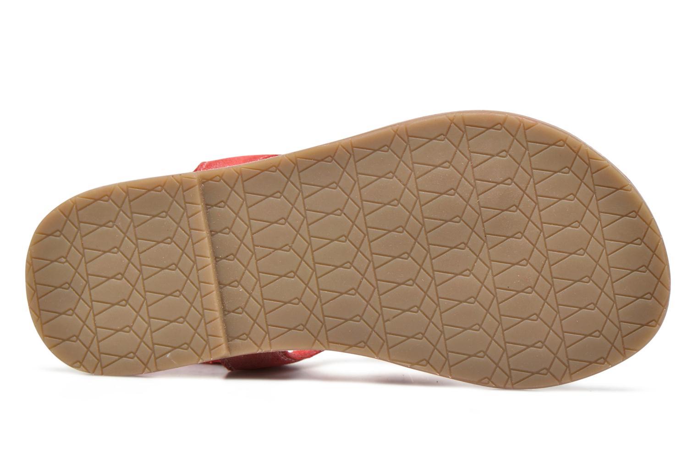 Sandalen I Love Shoes KEFRAN Leather rot ansicht von oben