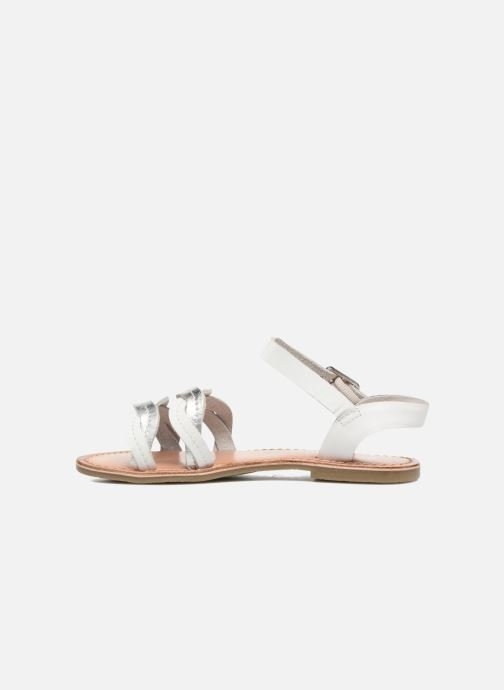 Sandales et nu-pieds I Love Shoes KEWAVY Leather Blanc vue face