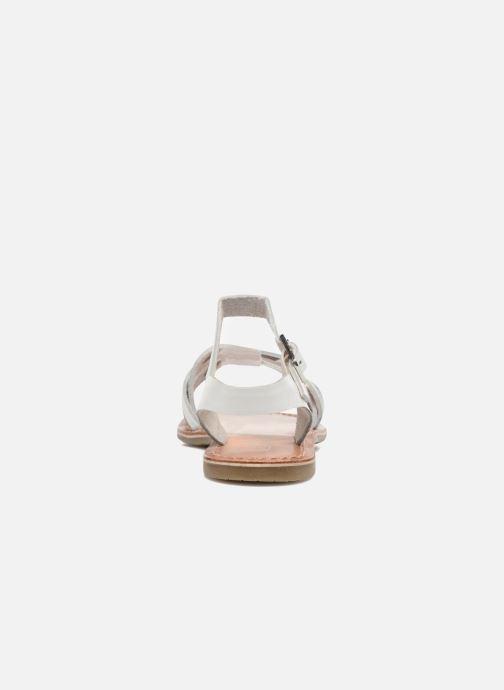 Sandalias I Love Shoes KEWAVY Leather Blanco vista lateral derecha