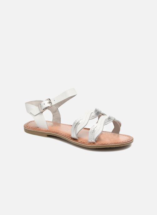 Sandalias I Love Shoes KEWAVY Leather Blanco vista de detalle / par
