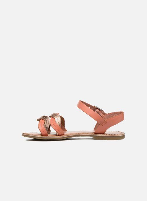 Sandales et nu-pieds I Love Shoes KEWAVY Leather Rose vue face