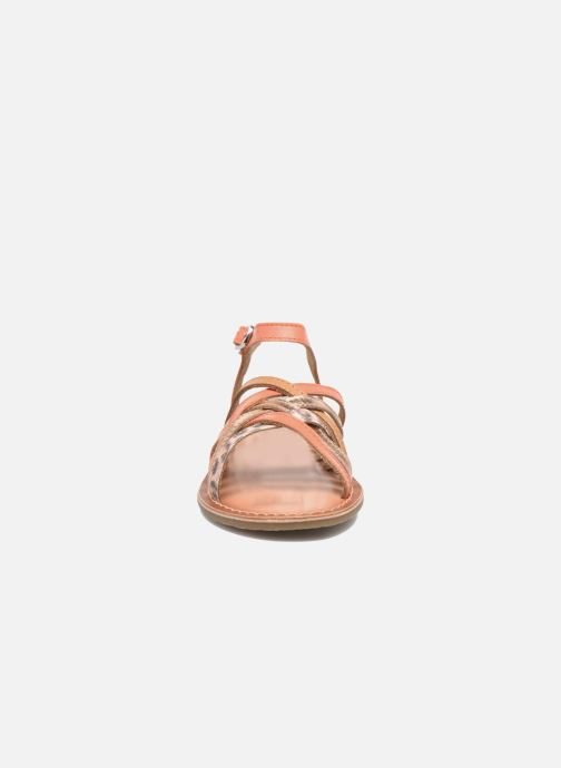 Sandalias I Love Shoes KEMULT Leather Rosa vista del modelo