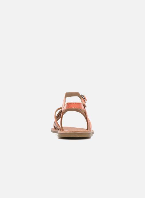 Sandalias I Love Shoes KEMULT Leather Rosa vista lateral derecha
