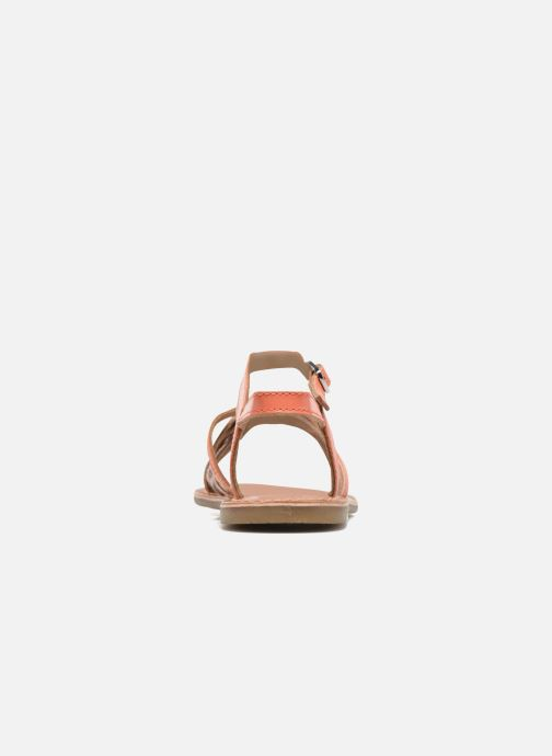 Sandalias I Love Shoes KEMULT Leather Rosa vista lateral derecha