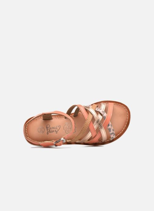 Sandalias I Love Shoes KEMULT Leather Rosa vista lateral izquierda