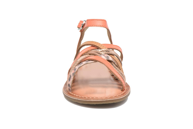 Sandales et nu-pieds I Love Shoes KEMULT Leather Rose vue portées chaussures