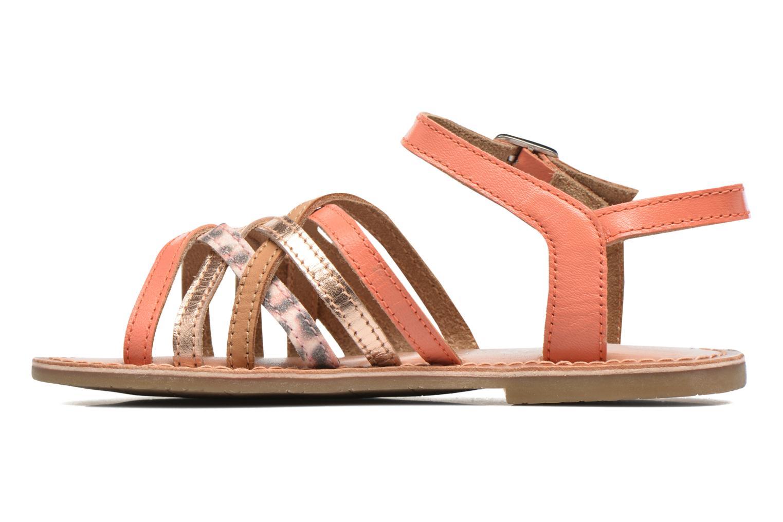 Sandales et nu-pieds I Love Shoes KEMULT Leather Rose vue face
