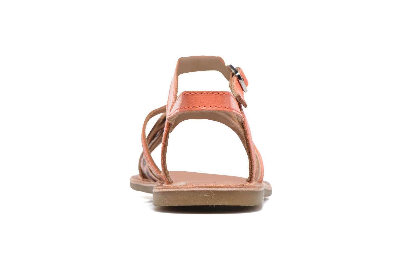 Sandales et nu-pieds I Love Shoes KEMULT Leather Rose vue droite