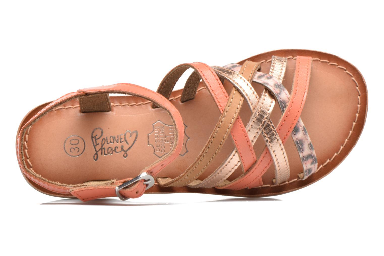 Sandales et nu-pieds I Love Shoes KEMULT Leather Rose vue gauche