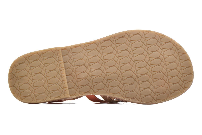 Sandales et nu-pieds I Love Shoes KEMULT Leather Rose vue haut