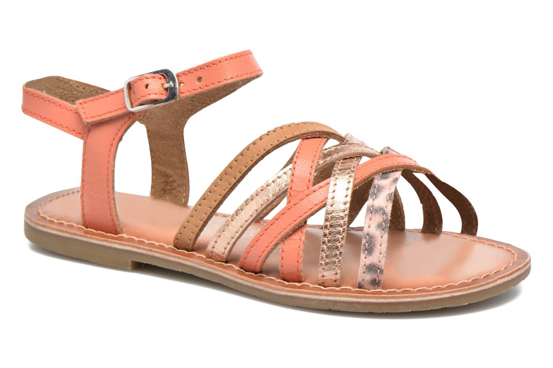 Sandales et nu-pieds I Love Shoes KEMULT Leather Rose vue détail/paire