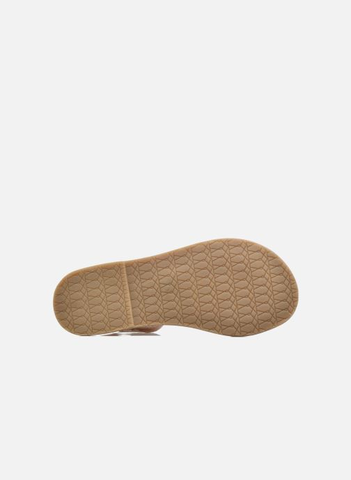 Sandalias I Love Shoes KETRUSI Leather Oro y bronce vista de arriba