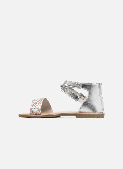 Sandales et nu-pieds I Love Shoes KETRUSI Leather Argent vue face