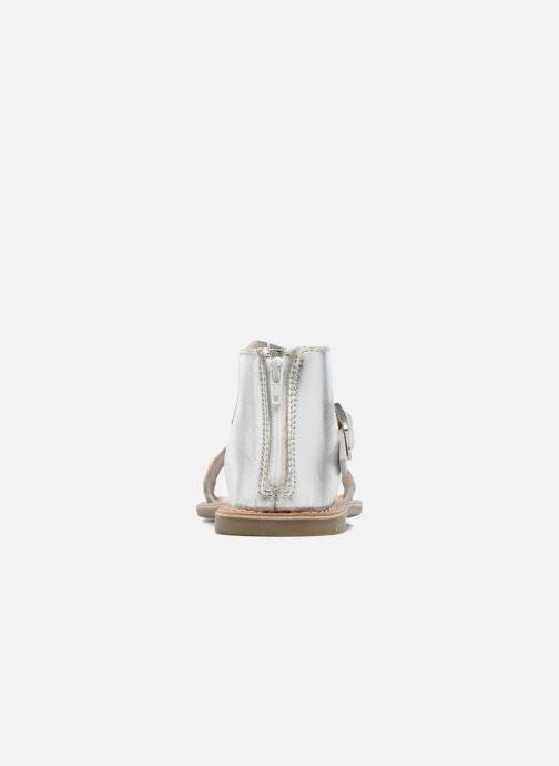 Sandalias I Love Shoes KETRUSI Leather Plateado vista lateral derecha