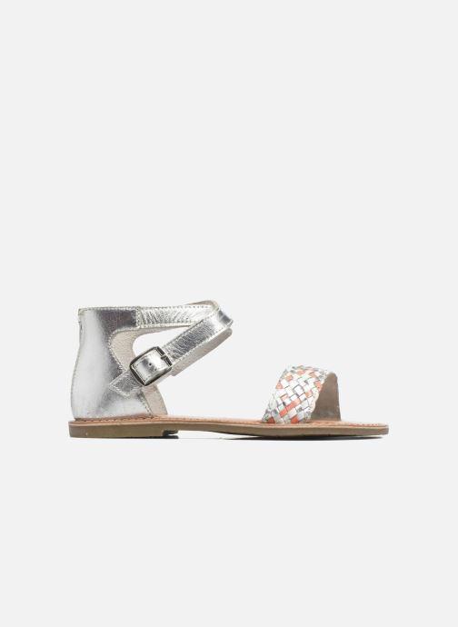 Sandalias I Love Shoes KETRUSI Leather Plateado vistra trasera