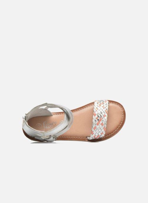 Sandalias I Love Shoes KETRUSI Leather Plateado vista lateral izquierda