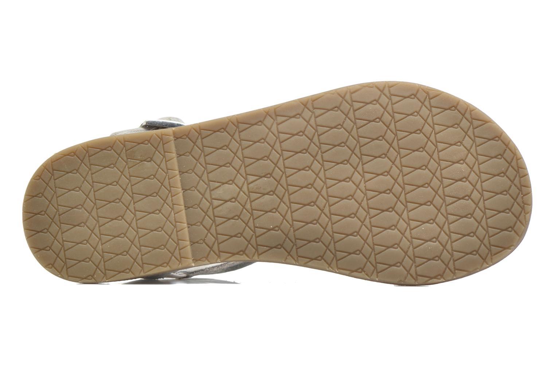 Sandales et nu-pieds I Love Shoes KETRUSI Leather Argent vue haut