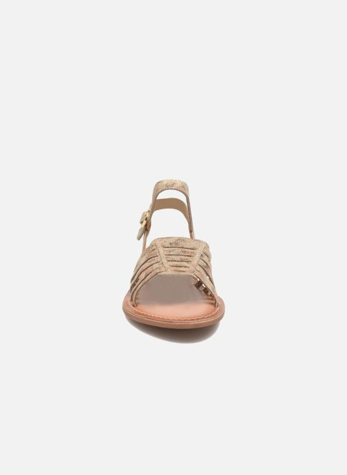 Sandals I Love Shoes KEGLIT Leather Beige model view