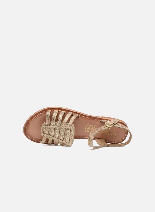 Sandales et nu-pieds I Love Shoes KEGLIT Leather Beige vue gauche