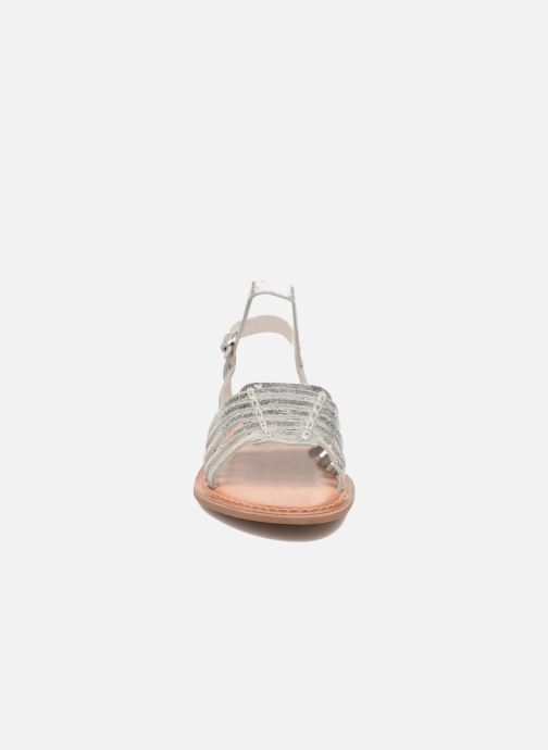 Sandals I Love Shoes KEGLIT Leather Silver model view