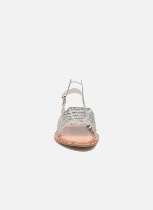 Sandali e scarpe aperte I Love Shoes KEGLIT Leather Argento modello indossato
