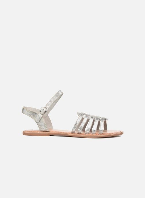 Sandals I Love Shoes KEGLIT Leather Silver back view