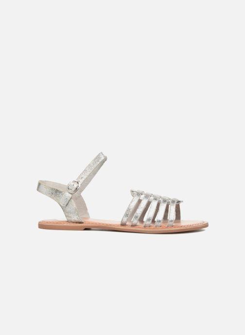 Sandali e scarpe aperte I Love Shoes KEGLIT Leather Argento immagine posteriore