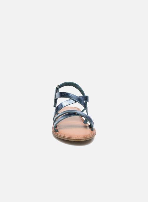 Sandales et nu-pieds I Love Shoes KEINU Leather Bleu vue portées chaussures