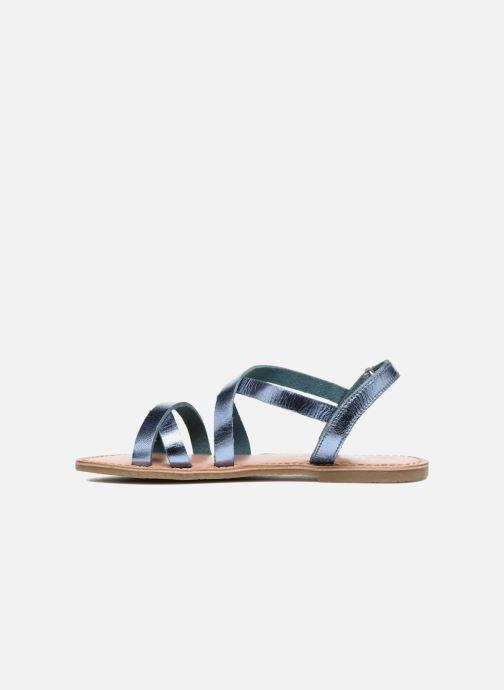 Sandales et nu-pieds I Love Shoes KEINU Leather Bleu vue face