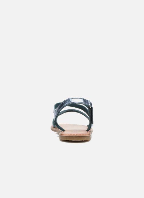 Sandales et nu-pieds I Love Shoes KEINU Leather Bleu vue droite