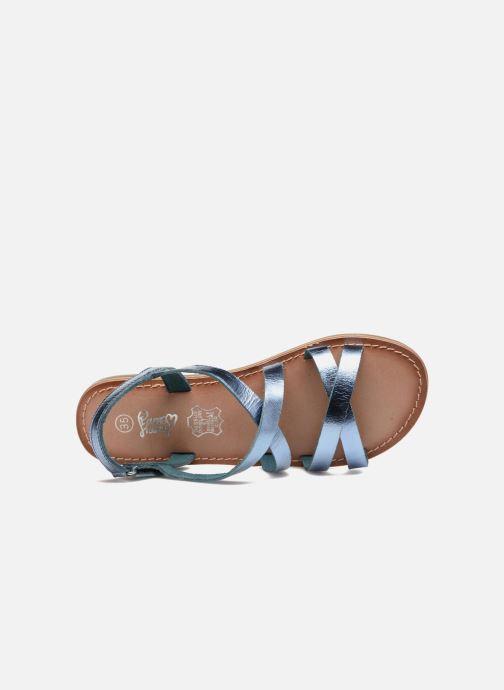 Sandales et nu-pieds I Love Shoes KEINU Leather Bleu vue gauche