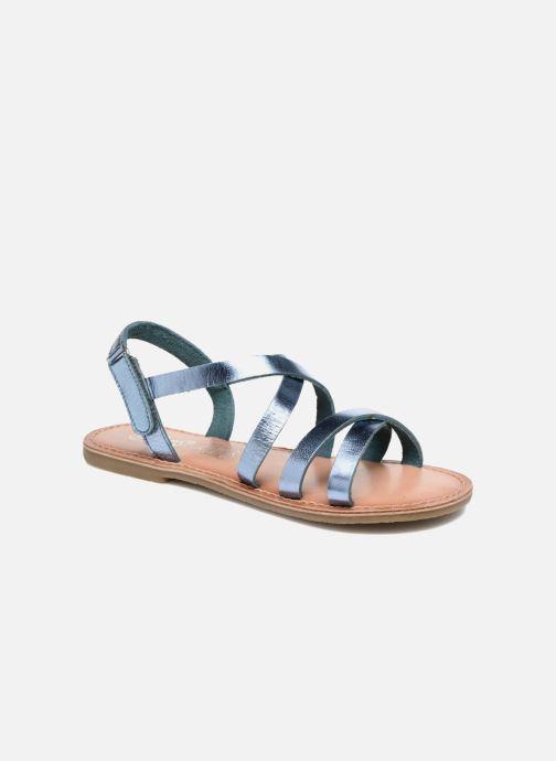Sandales et nu-pieds I Love Shoes KEINU Leather Bleu vue détail/paire