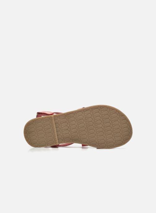 Sandalen I Love Shoes KEINU Leather rosa ansicht von oben