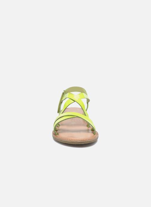 Sandales et nu-pieds I Love Shoes KEINU Leather Jaune vue portées chaussures