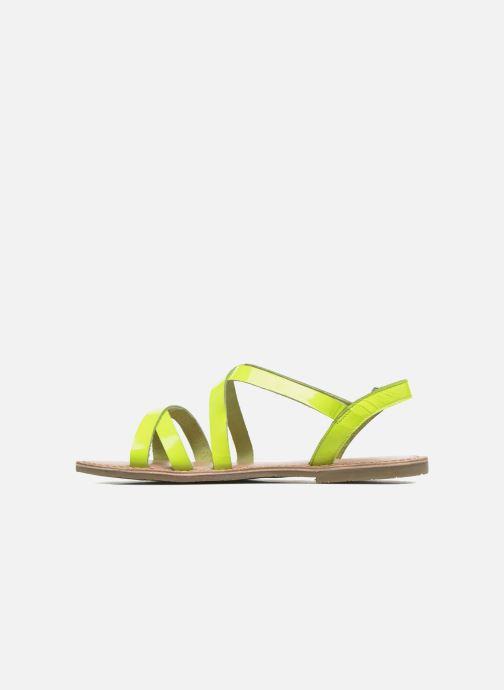 Sandalias I Love Shoes KEINU Leather Amarillo vista de frente