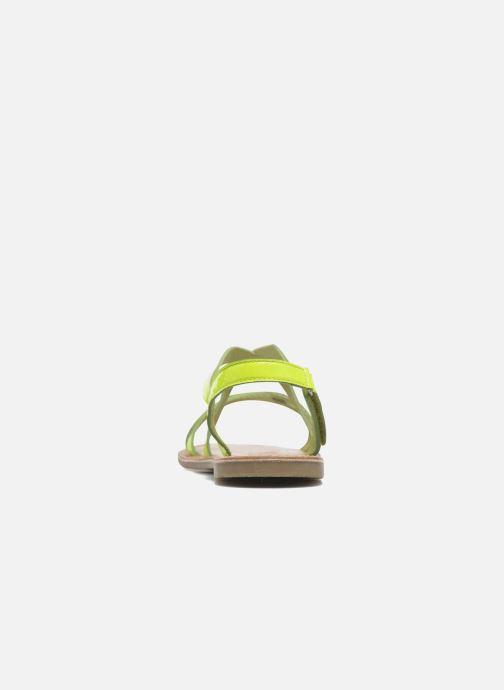 Sandalias I Love Shoes KEINU Leather Amarillo vista lateral derecha