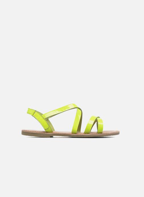 Sandalias I Love Shoes KEINU Leather Amarillo vistra trasera