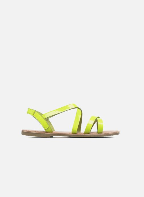Sandales et nu-pieds I Love Shoes KEINU Leather Jaune vue derrière