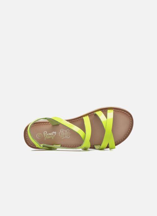 Sandalias I Love Shoes KEINU Leather Amarillo vista lateral izquierda
