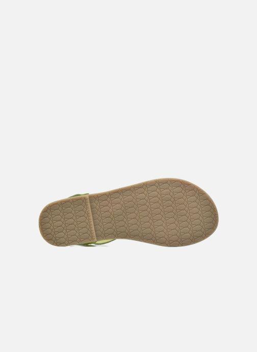 Sandales et nu-pieds I Love Shoes KEINU Leather Jaune vue haut