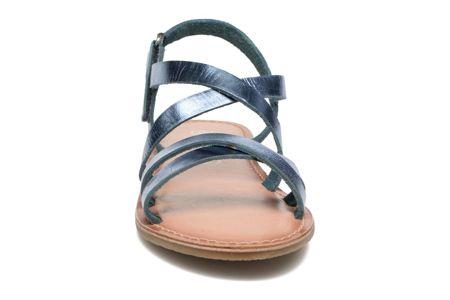 Sandalen I Love Shoes KEINU Leather Blauw model