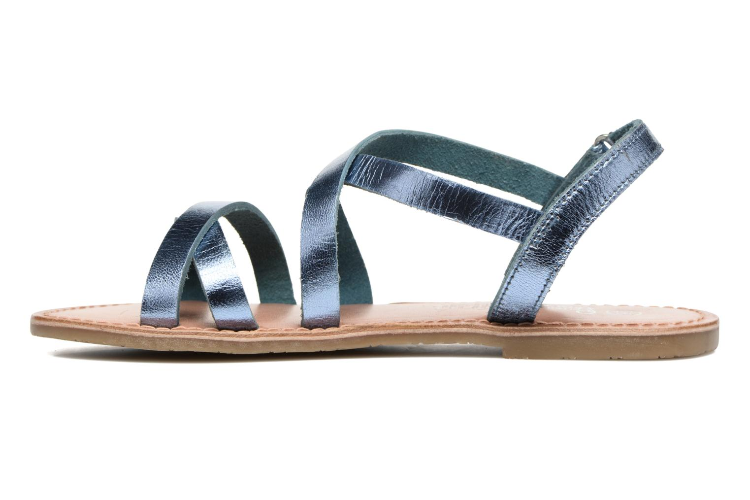 Sandalen I Love Shoes KEINU Leather Blauw voorkant