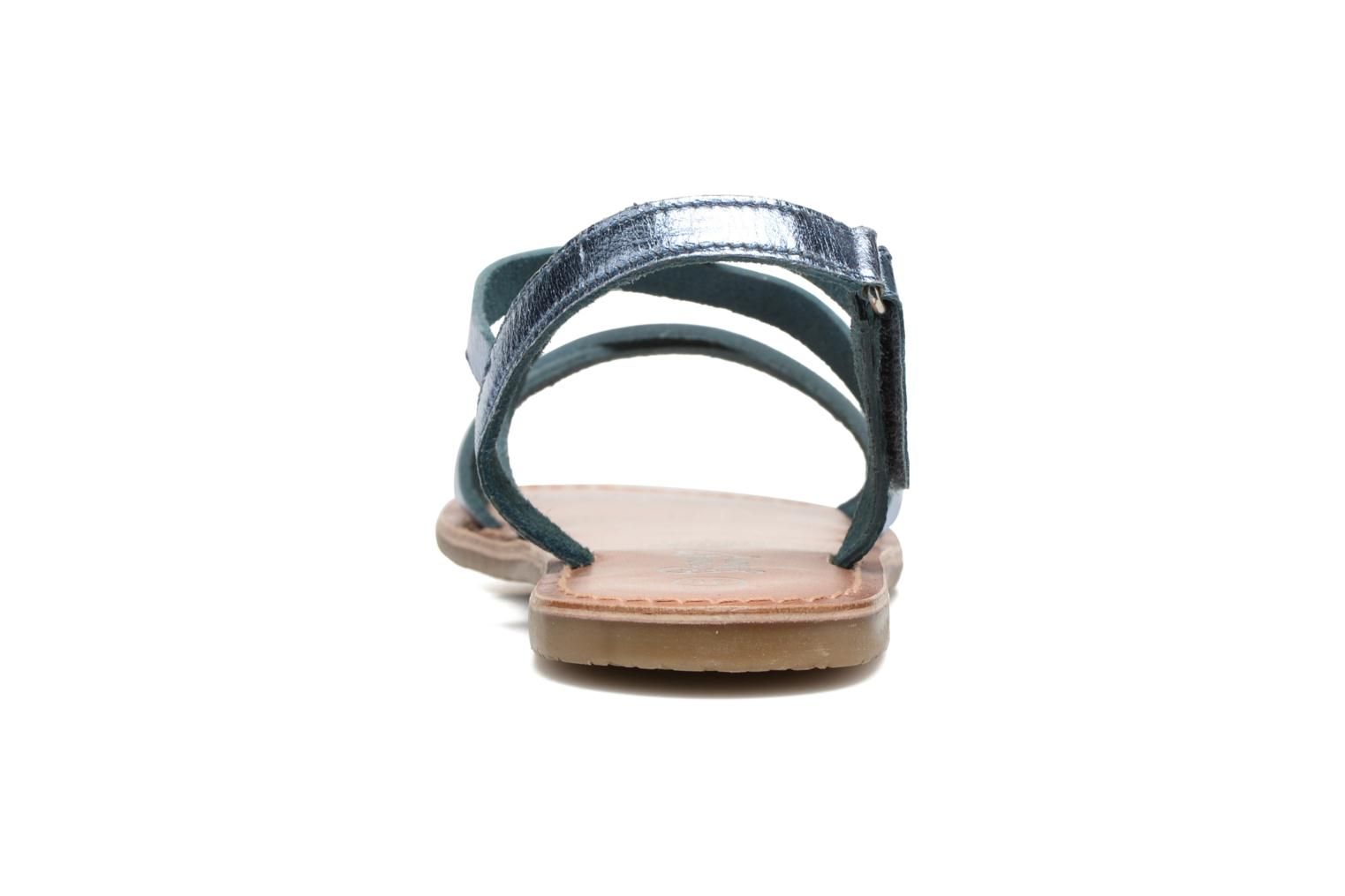 Sandalen I Love Shoes KEINU Leather Blauw rechts