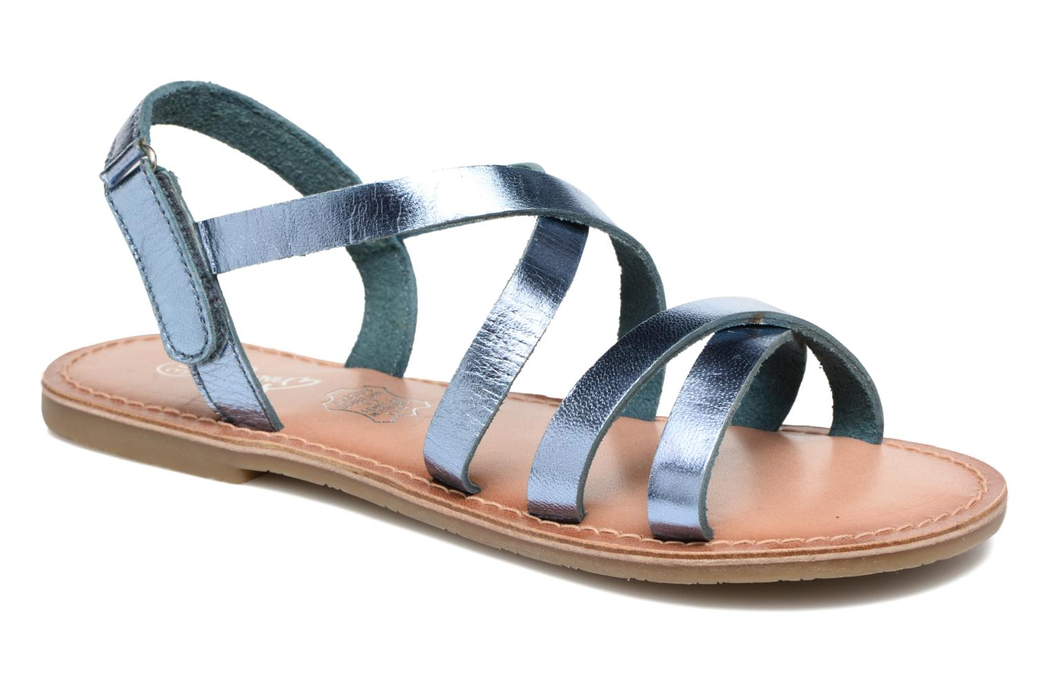 Sandalen I Love Shoes KEINU Leather Blauw detail