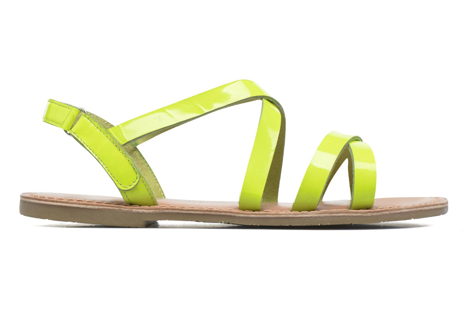 Sandalias I Love Shoes KEINU Leather Amarillo vistra trasera