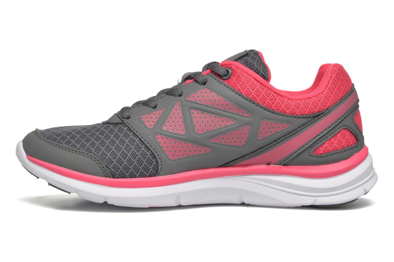 Sport shoes Kappa Fanger PU Mesh W Pink front view