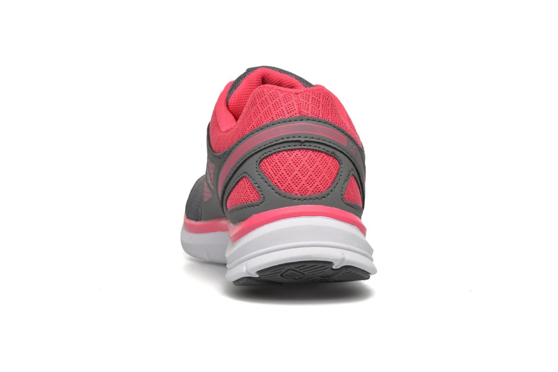 Zapatillas de deporte Kappa Fanger PU Mesh W Rosa vista lateral derecha