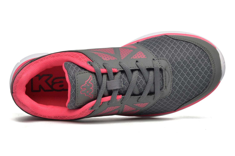 Zapatillas de deporte Kappa Fanger PU Mesh W Rosa vista lateral izquierda
