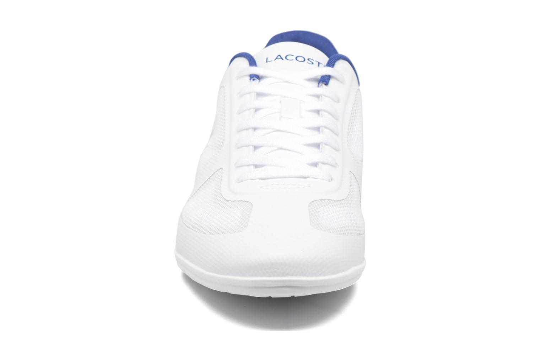 Sneaker Lacoste Misano Evo 117 1 weiß schuhe getragen